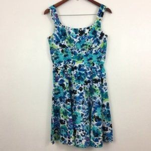 Madison Leigh Floral Sleeveless Fit & Flare Dress